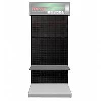 Стенд выставочный, часть1 (панель, 920х450х2100 мм, цвет черный) Toptul