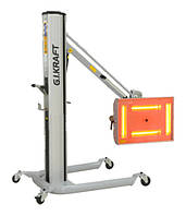 Инфракрасная коротковолновая сушка (4х1000W, 40°C-100°C, 0-99 мин, ж/к дисплей, датчик расстояния и t G.i.kraft