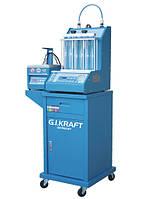 Установка для диагностики и чистки форсунок (6 форсунок, тележка, у/звуковая ванна с таймером) G.i.kraft
