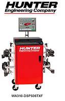 Стенд для регулировки развала-схождения грузовых автомобилей и автобусов, технология CCD ПО WinAlign Hunter