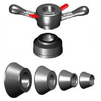 Базовый комплект конусов (4 ед. ) со стандартным углом для балансировочных стендов Hunter