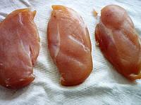 Куриная грудка сырокопченая
