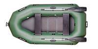 Лодка Bark B-250С, двухместная гребная, реечный настил
