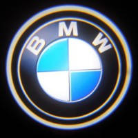 Штатная подсветка в двери BMW Ghost Shadow Light
