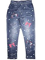 Леггинсы под джинс с микроначёсом  для девочек Sinsere, размеры 6,8,12 лет, арт. R-21