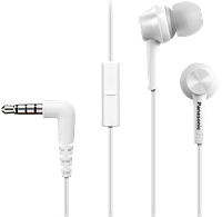 Наушники с микрофоном Panasonic RP-TCM105E-W White
