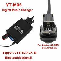 aux usb sd card Yatour YTM06-CLR для штатной магнитолы Suzuki Clarion(CE-NET)