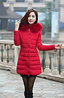 Жіноча зимова куртка, пуховик Модель 738, фото 4