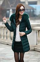 Жіноча зимова куртка, пуховик Модель 738, фото 2