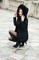 Жіноча зимова куртка, пуховик Модель 738, фото 7