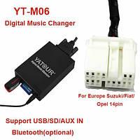 Usb sdcard aux ipod эмулятор сд Yatour M06 SUZ2 для Suzuki