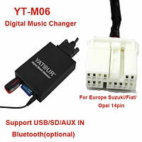 MP3 usb aux эмулятор сд Yatour M06 SUZ2 для Suzuki PACR