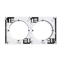 EPH6100121. Коробка для наружного монтажа Белый ASFORA