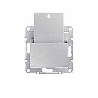 SDN1900160. Карточный выключатель. Алюминий. Sedna