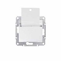 SDN1900121. Карточный выключатель. Белый. Sedna