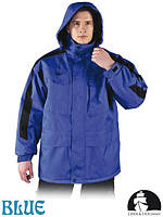 Куртка зимняя рабочая водоотталкивающая имеет прячущийся капюшон Польша (спецодежда утепленная) LH-WALKER NB