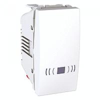 MGU3.106.18C. Выключатель кнопочный. Символ «Звонок». 1-модульный. Белый Unica