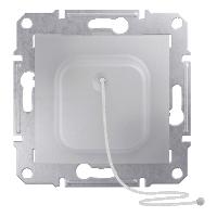 SDN1200160. Кнопка. Со шнуром. Алюминий. Sedna