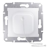 SDN1200121. Кнопка. Со шнуром. Белый. Sedna