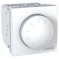 MGU3.511.18. Светорегулятор поворотно-нажимной. 230/12В для устройств с ферромагнитным трасформатором. Белый Unica