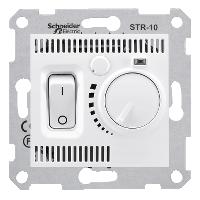 SDN6000121. Термостат комнатный 10А, макс. мощность 2300Вт. Белый. Sedna