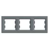 EPH5800362. Рамка Трехпостовая, Горизонтальная. Сталь. Asfora plus