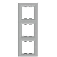 EPH5810361. Рамка Трехпостовая, Вертикальная. Алюминий. Asfora plus