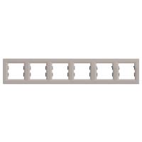 EPH5800669. Рамка Шестипостовая, Горизонтальная. Бронза. Asfora plus