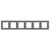 EPH5800662. Рамка Шестипостовая, Горизонтальная. Сталь. Asfora plus