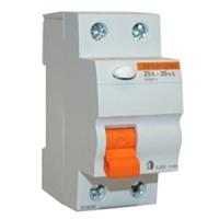 Дифференциальный выключатель нагрузки ВД63 2П 25A 300МA. Домовой