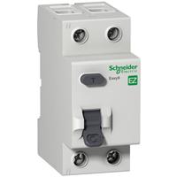 EZ9R74240. Дифференциальный выключатель нагрузки. С защитой от перенапряжения >280V. 40A/2Р/100мА/А