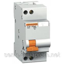11471. Дифференциальный автоматический выключатель АД63 2П 25A З 300МА. Домовой