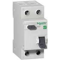 EZ9D34625. Дифференциальный автоматический выключатель. 1Р+N/25А/30мА/ТИП «АС»