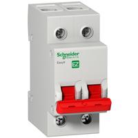 EZ9S16292. Выключатель нагрузки (мини-рубильник)- «І-О»-2Р- 400В-125А/5кА
