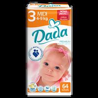 Подгузники Dada 3 (64 шт)