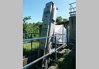 Канальная механическая грабельная решетка для грубой механической очистки сточных вод CRS -800 AISI 304