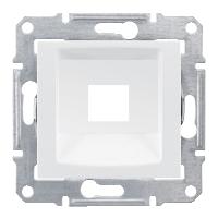 SDN4300421. Адаптер для коннекторов 1М RDM КАТ5Е 6 UTP. Белый. Sedna