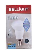 Лампа светодиодная Bellight LED R50 E14 6W 4000K