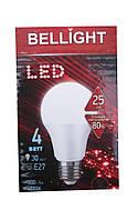 Лампа светодиодная Bellight LED A60 E27 4W 4000K
