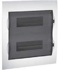 MIP12108S. ЩИТ MINI PRAGMA  1РЯД/8 модулей  Навесной Прозрачная дверь