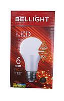 Лампа светодиодная Bellight LED A60 6W E27 3000K