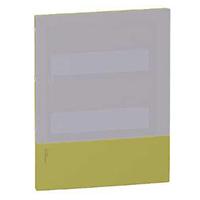 MIP60106T. Передняя панель MINI PRAGMA Фисташковая 1Р/6 модулей Встраиваемый Дымчатая дверь