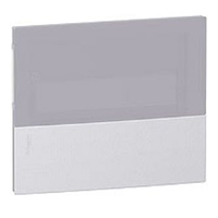 MIP70104T. Передняя панель MINI PRAGMA Хром 1Р/4 модуля Встраиваемый Дымчатая дверь