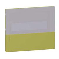 MIP60212T. Передняя панель MINI PRAGMA Фисташковая 2Р/24 модуля Встраиваемый Дымчатая дверь