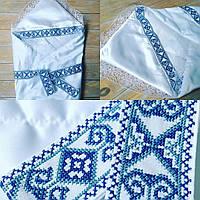 Вышытый Конверт-одеяло на выписку с роддома для мальчика, фото 1