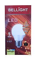 Лампа светодиодная Bellight LED G45 E27 5W 3000K (шарик)