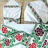 Конверт-одеяло для девочки на выписку с вышивкой