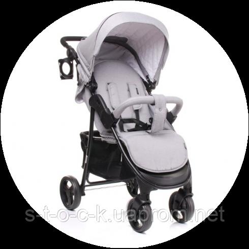 4baby Rapid 2017 год. Прогулочная детская коляска - коляска трость. Новые цвета! Цвет: серый