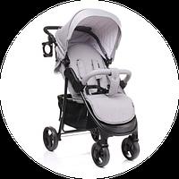 4baby Rapid 2017 год. Прогулочная детская коляска - коляска трость. Новые цвета! Цвет: серый, фото 1