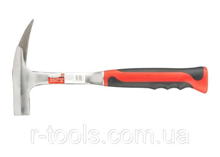 Молоток кровельщика, 600 г, цельнометаллический, двухкомпонентная рукоятка MTX 106209
